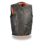 Zip Front Milwaukee Leather Motorcycle Vests