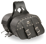 Motorcycle Zip-Off Saddle Bags: Gun Pocket