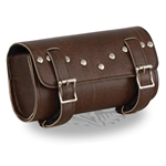 Milwaukee Studded Brown Motorcycle Tool Bag