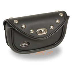 Studded Windshield Motorcycle Bag -  Milwaukee Performance