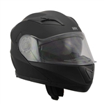 Full Face Modular Motorcycle Helmets Matt Black