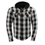 Milwaukee Flannel Motorcycle Body Armor Shirt Jacket