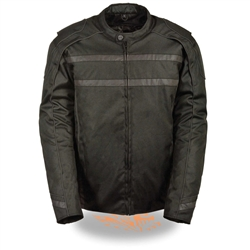 High Visibility Reflective Textile Motorcycle Jacket, Milwaukee Performance