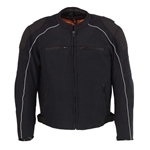 Armored Mens Mesh Racing Jacket