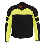 Neon Mens Mesh Racing Jacket