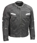 Body Armor Mens Mesh Racing Jacket