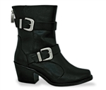 "Milwaukee Womens Leather Motorcycle Boot ""Fallyn"""
