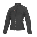 Ladies Heated Motorcycle Jacket, Dual Powered Heated Gear