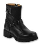 "Womens Motorcycle Boots ""Delusion"" by Milwaukee"