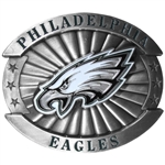 Large Philadelphia Eagles Belt Buckle