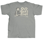 Old Guys Rule T-Shirts: John Wayne A Mans Gotta Do