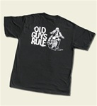 Old Guys Rule Biker Motorcycle T-Shirt