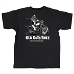Old Guys Rule Biker T-Shirts: Motorcycle