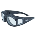 Transitional Fitover Motorcycle Riding Glasses