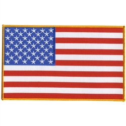 American Flag 5'' Patch