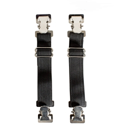 Biker Boot Straps - Motorcycle Pants Keeper Bungee