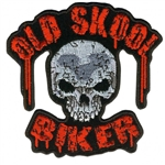 Old Skool Biker Patches