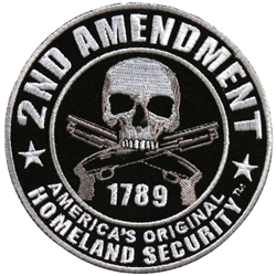 Biker Patches 2nd Amendment