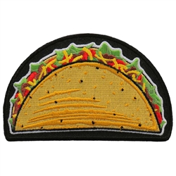 Taco Patch for Bikers, Leather Bound NJ