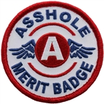 Biker Patches: Asshole Merit Badge