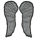 Angel Wings Biker Patch