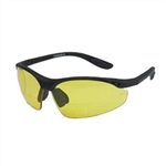 Safety Bifocal Riding Glasses - Yellow Lens, Night Riding