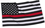 Thin Red Line Flag (Fire Fighter)