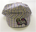 Harley Davidson Girl's Plaid Hat