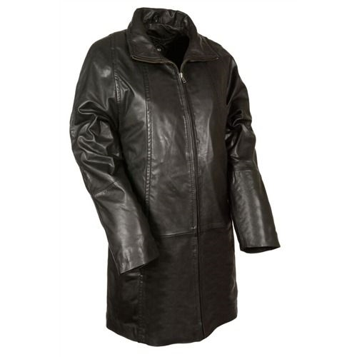 Womens Soft Leather Swing Coat - Leather Bound Online
