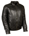 Men's Premium Bomber Style Leather Jacket