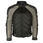 Armored Leather Motorcycle Jacket for Men 3 Seasons