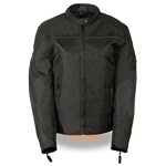Ladies Textile Lightweight Motorcycle Jacket