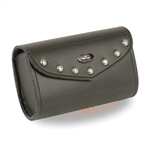 Small Motorcycle Windshield Bag - Studded
