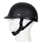 Novelty Motorcycle Helmets: Black Polo