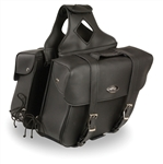 Motorcycle Zip-Off Saddle Bags