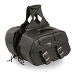 Throw Over Motorcycle Saddle Bags - Milwaukee Performance Luggage