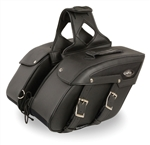 Motorcycle Saddle Bags: Zip-Off Luggage