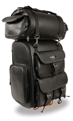 2 Piece Motorcycle Large Touring Luggage Bag