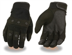 Summer Motorcycle Gloves: Men's Textile & Mesh