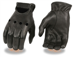 Mens Deerskin Leather Motorcycle Gloves: Driving