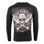 Men's Biker Long Sleeve Shirts: Bad Example