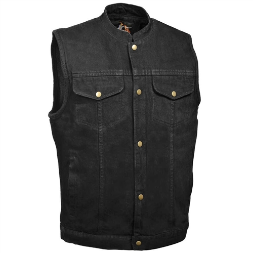 MEN/'S MOTORCYCLE RIDERS CLASSIC LEATHER CHAP BLK WITH 2 POCKETS UPTO 9XL NEW