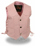 Toddler Girl Pink Kids Motorcycle Vest
