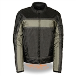 Textile Padded Men's Motorcycle Jacket: NexGen