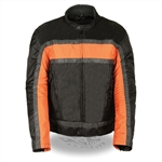 Body Armor Racer Men's Motorcycle Jacket: NexGen