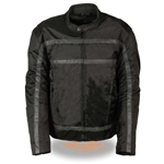 Body Armor Racer Men's Motorcycle Jacket: Milwaukee