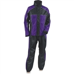 Women's Motorcycle Rain Gear Suit: 2 Piece