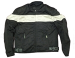 Summer Men's Motorcycle Jacket - Mesh Reflective