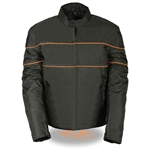 Nylon Reflective Motorcycle Jacket for Men