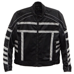 Textile Reflective Motorcycle Jacket for Men